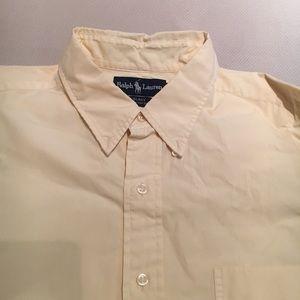 Polo by Ralph Lauren Shirts - Ralph Lauren button down shirt light yellow